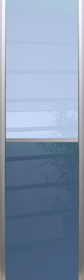 Sliding Alto lacquered glass and Japanese style
