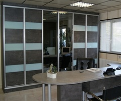 Sliding doors Deco dark Beton