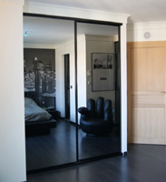 Sliding doors Gray miror