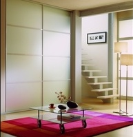 Sliding doors mat glass Matelux